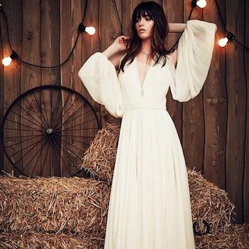 Стиль жизни: свадебное платье в стиле бохо-шик