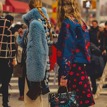 Неделя моды в Нью-Йорке: лучшие образы street style