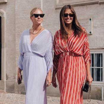 Нежность осени: лавандовые платья на пике моды!