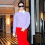 Как носить юбку круглый год? Модные приемы Виктории Бекхэм. Фото