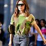 Универсальный модный образ на каждый день от Виктории Бекхэм. Фото