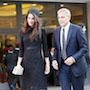 Амаль Клуни в черном мини-платье и в тюрбане блистала на публике. Фото