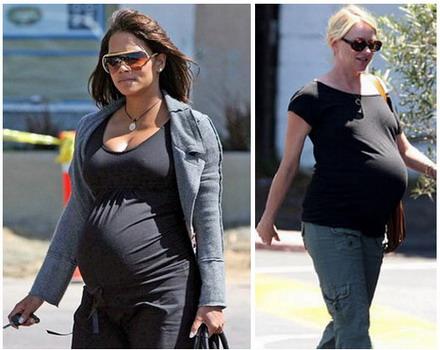 Звезды до и после беременности.